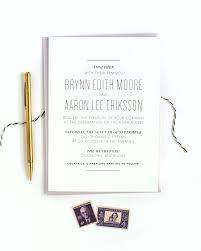Black And White Wedding Invitations Minimal Masculine Black And White Wedding Invitations U2014 Alisa