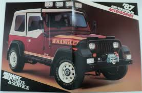 jeep wrangler sport accessories jeep wrangler accessories brochure by renault jeep parts service