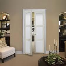 Pivot Closet Doors Shop Reliabilt 3 Lite Frosted Pivot Interior Door Common 30 In X