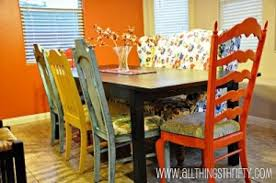multi colored dining room chairs alliancemv com