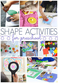 shapes activities for preschoolers pre k pages