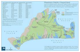 martha s vineyard marthas vineyard watershed map martha039s vineyard ma u2022 mappery