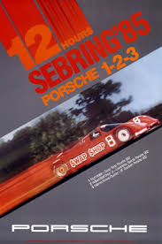porsche poster porsche racing sebring art pinterest car posters cars and