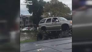 fleet monster trucks conducts rescues flood ravaged texas
