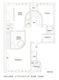 Duplex Plan Luxury Duplex Penthouse Apartment Interior In Stockholm Sweden
