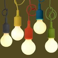 silicone light bulbs wholesale wholesale 1m cord mutto pendant light diy edison light bulb