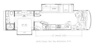 2018 newmar canyon star steinbring motorcoach newmar roadtrek floor plans