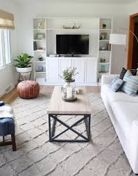 this 25 year old completely transformed her living room on a