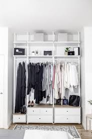 ikea closets ikea closets to create a custom closet look apartment therapy