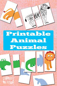 printable paper puzzles printable animal puzzles busy bag itsy bitsy fun
