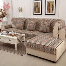plaid coton canapé britannique brun plaid housse de canapé coton dentelle décor