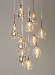Cluster Pendant Light with Cluster Pendant Lights Illuminate Atelier Light Cluster Glass And