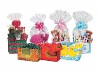 gift packages and trays