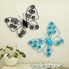 europe zakka vintage butterfly hanging ornaments home decor metal