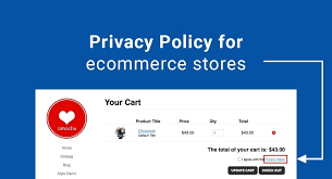 privacy policy for ecommerce stores termsfeed