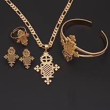 amazon com 2016 new arrival ethiopian jewelry sets 24k gold