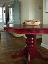 cheap red dining table and chairs colorful painted dining table inspiration