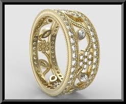deco wedding band unique deco diamond wedding band flower ring design vidar