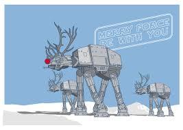 star wars christmas card christmas lights decoration
