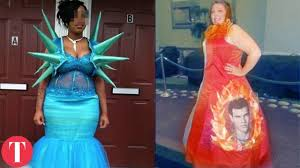 10 really bad prom dresses youtube