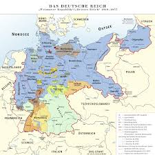 Map Of Europe 1919 germany republic of weimar and third reich 1919 u20131937 full size