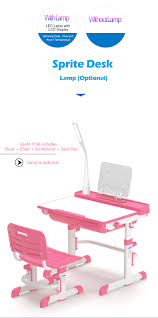 Kids Desk Pad by Sprite Pink Desk