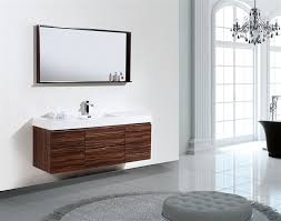 Bathroom Furniture Walnut by Bathroom White Single Sink Vanity Simple Walnut Wall Mounted