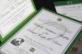 wedding invitations ireland celtic inspired wedding invitation suite celtic knot