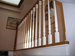 How To Install Stair Banister Custom Stair Baluster And Banister Repair Porch Railing