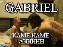 Hadouken Meme - gabriel baby hadouken meme on memegen
