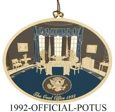 the 1992 white house ornament was made the administration of
