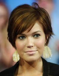 short hairstyles heart shaped face thick hair new hair style