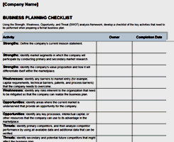 Free Excel Business Plan Template Business And Finance Free Excel Templates From Activia