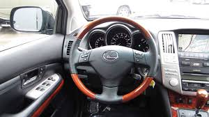 lexus rx 350 wholesale price 2008 lexus rx350 black stock 089815 interior youtube