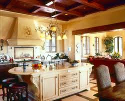 Tuscan Style Flooring by Perfect Kitchen Design Ideas Tuscan Kitchens O Inside