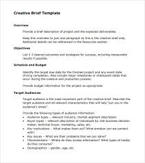 design brief maker sle creative brief 9 free documents in pdf word
