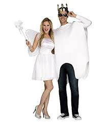 world unisex adults tooth fairy costume white