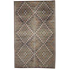 Modern Kilim Rugs Vintage Turkish Flatweave Kilim Rug With Modern Design And