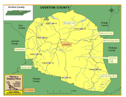Eastern Tennessee Map by Overton County Tennessee Century Farms