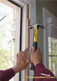 Exterior Door Jamb Astonishing How To Replace An Exterior Door Part Of Fix A Jamb