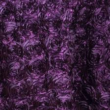 eggplant ribbon satin ribbon roses tablecloth decoration dinner wedding