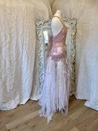recycle wedding dress boho wedding dress pink boho wedding dressrawrags