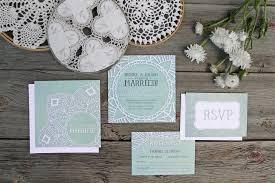 Mint Wedding Invitations Wedding Invitations And Stationery Alicia U0027s Infinity
