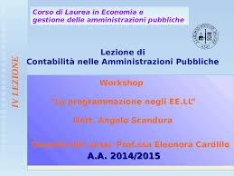 3 lezione bilancio previsione scandura 2014 docsity