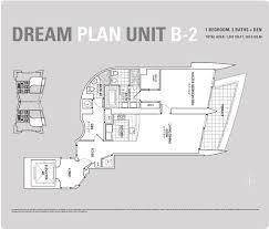One Bedroom And A Den Floor Plans Jade Beach Sunny Isles Beach Condo
