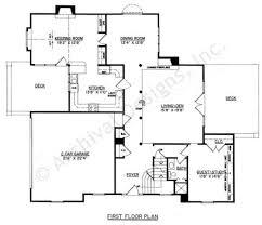 thorold traditional floor plan daylight basement plan