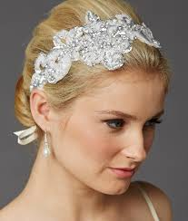 wedding headbands ribbon wedding headbands