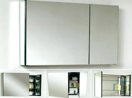 recessed bathroom mirror cabinet semi recessed bathroom cabinet rumorlounge club