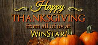 Is Thanksgiving Today Winstar