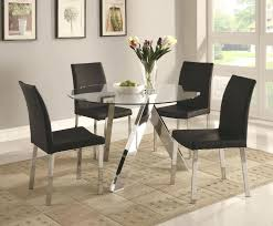 Glass Dining Sets 4 Chairs Large Glass Dining Room Table Furniture Dining Table Price Small